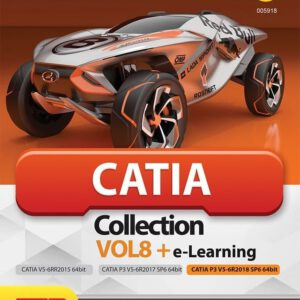 Catia Collection Vol.8 + e-Learning 64-bit